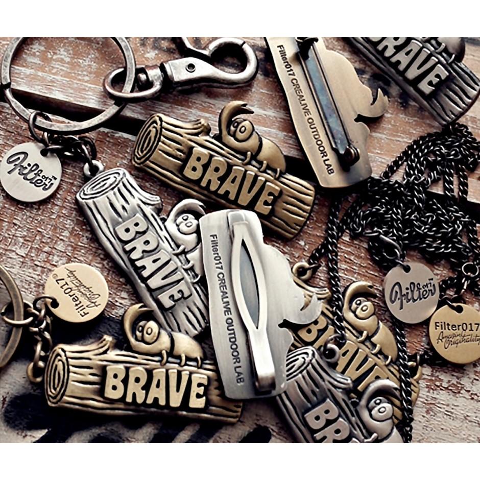 Filter017 Brave Metal KeyChain / Necklas / Cadh Holder