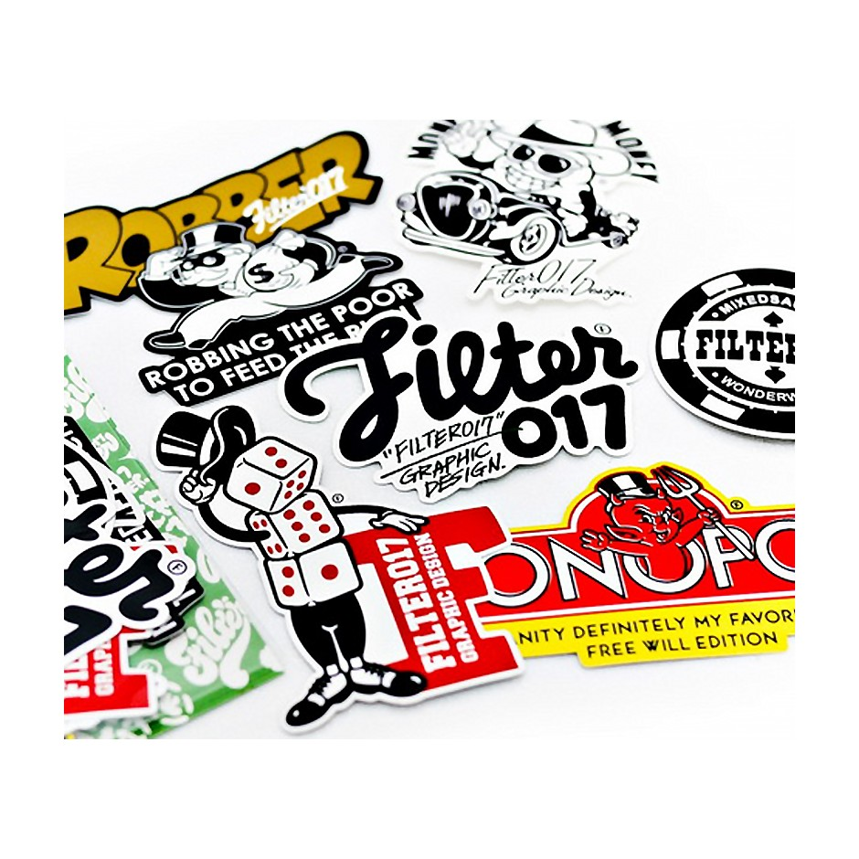 Filter017 Casino Life Sticker Set